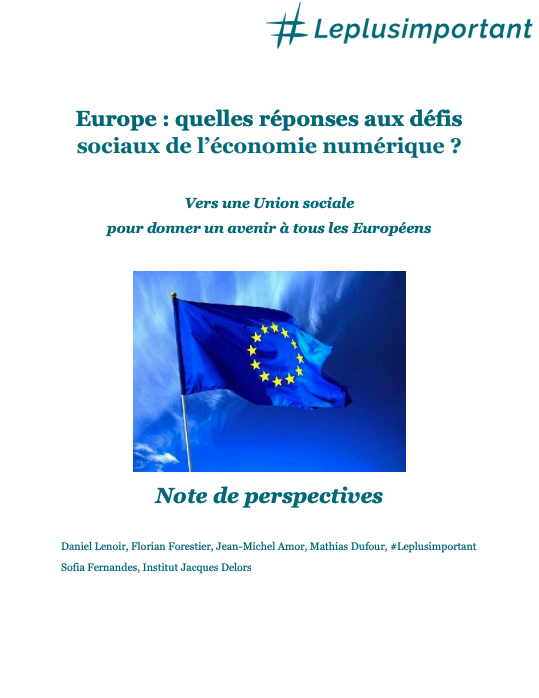 rsythèse rapport défis de l'Europe Leplusimportant